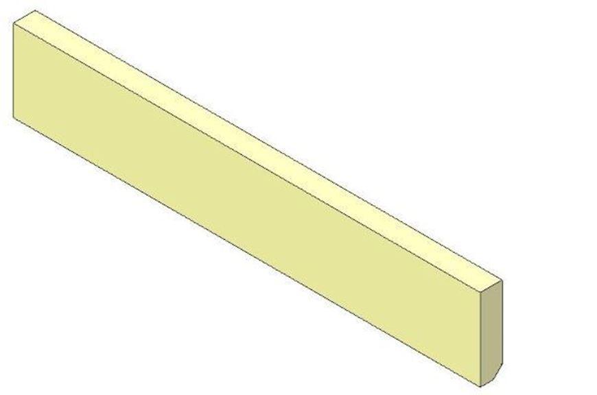 Picture of Lower rear brick - Aspect 7 (non Eco)