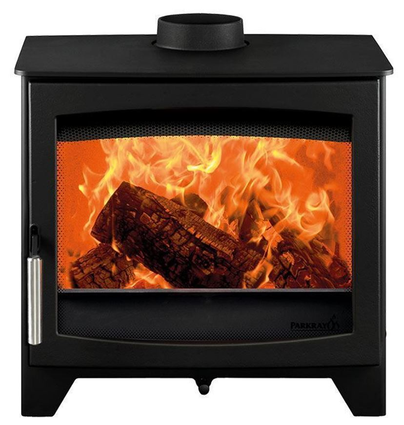 Wood stove - Hunter Stoves - Aspect 7 Side view