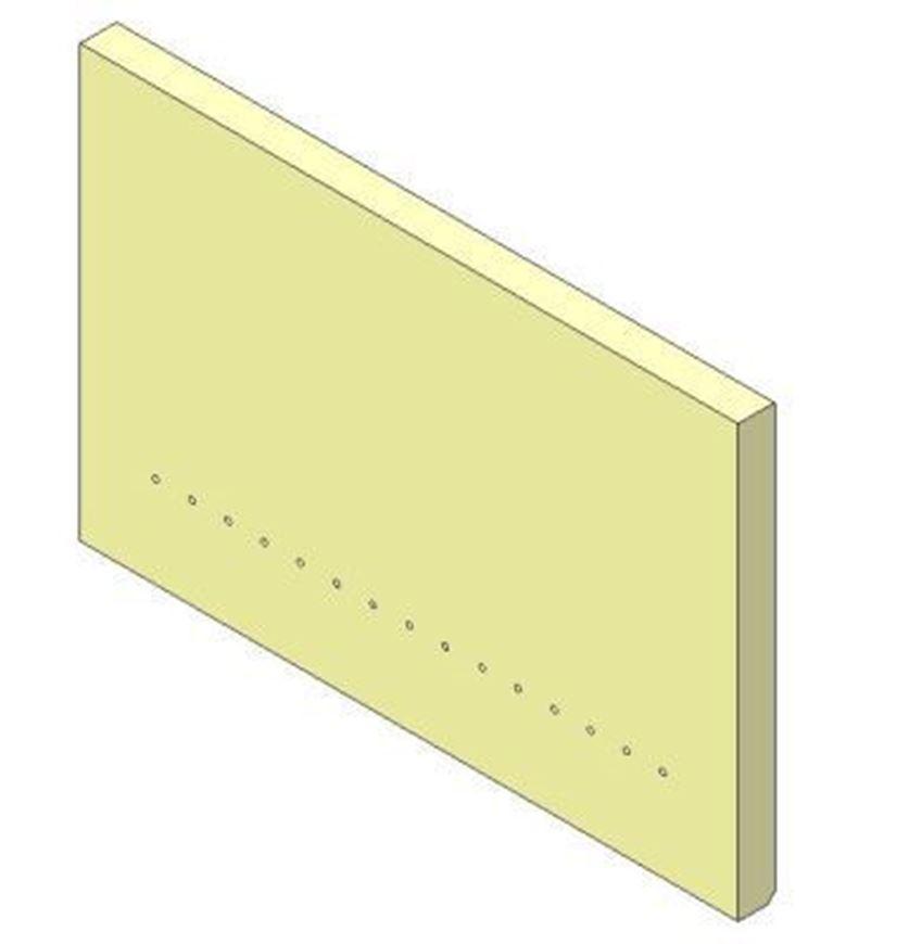 Picture of Rear Brick - Aspect 5 Eco, Aspect 5 Compact Eco & Allure 5