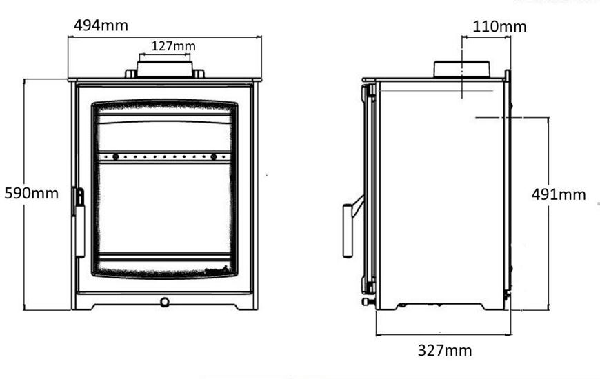 Wood stove ecodesign