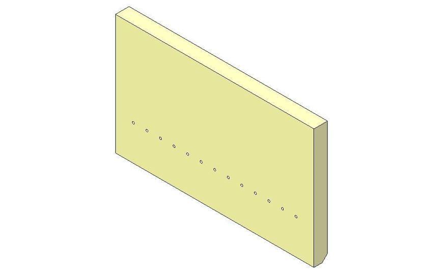 Picture of Rear Brick - Aspect 4 Eco