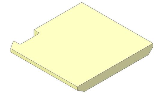 Picture of Base brick - Left hand - R5 Eco