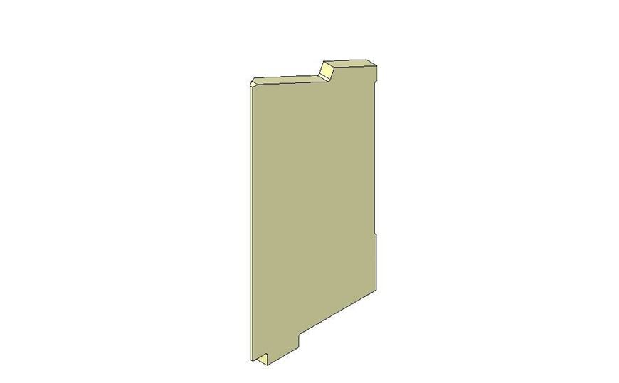 Picture of Side brick - Right hand - R5 Eco
