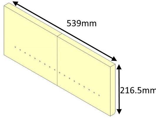 Picture of Rear Brick - Aspect 7 Eco