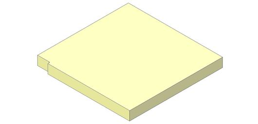 Picture of Base Brick - Aspect 8 Eco, Left Hand