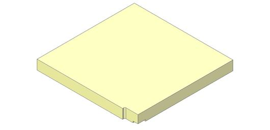 Picture of Base Brick - Aspect 8 Eco, Right hand