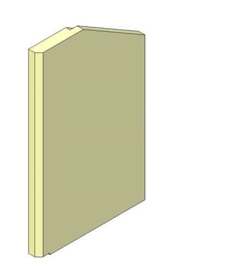 Picture of Side Brick - Aspect 8 Eco, Right hand