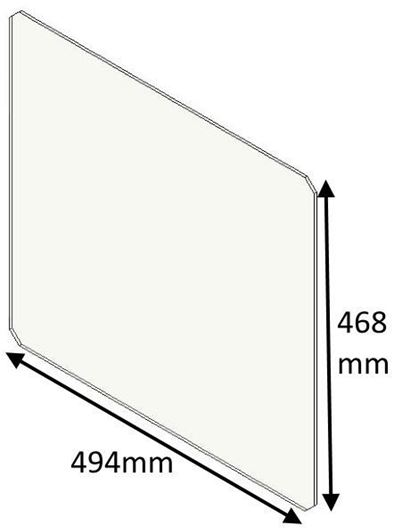 Picture of Glass panel