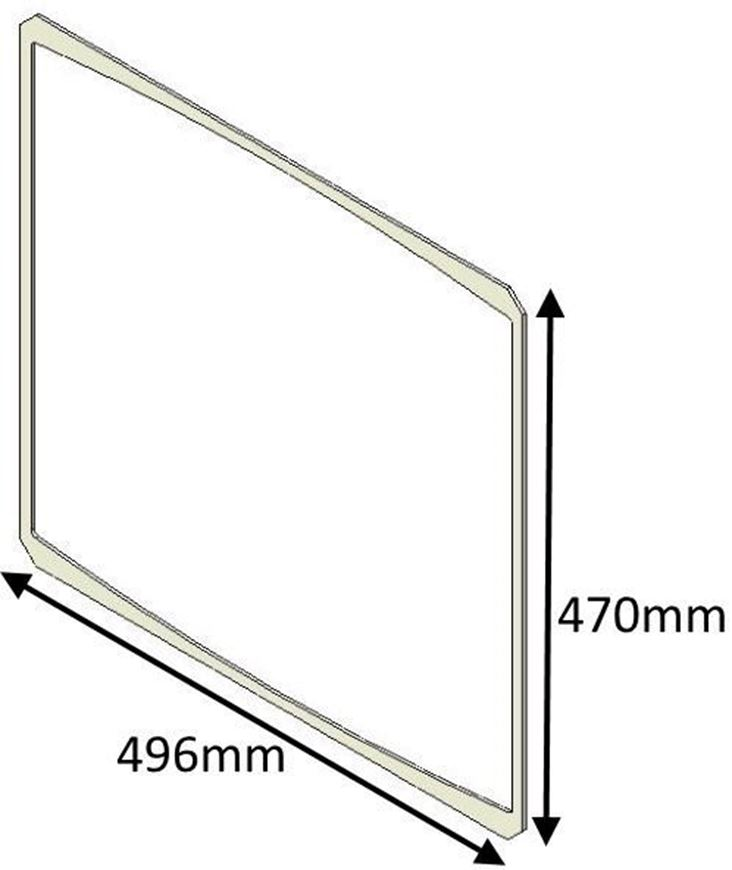 Picture of Glass Gasket - Aspect 8, 8 Slimline, 9, 14 and 80b