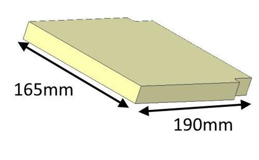 Picture of Baffle Brick - Upper