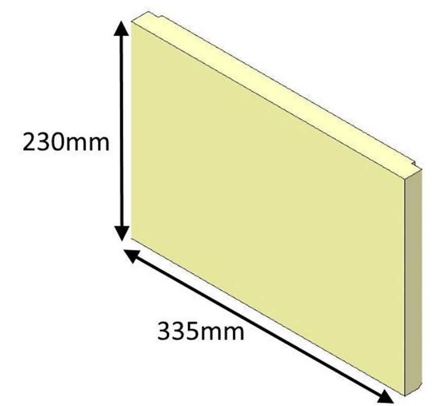 Picture of Rear Brick - Jetmaster 18i Inset
