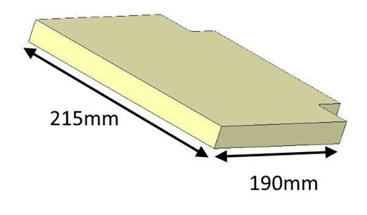 Picture of Baffle - Upper