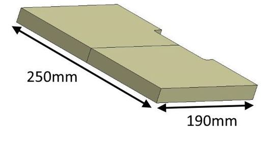 Picture of Baffle - Lower, 18I (Current model)