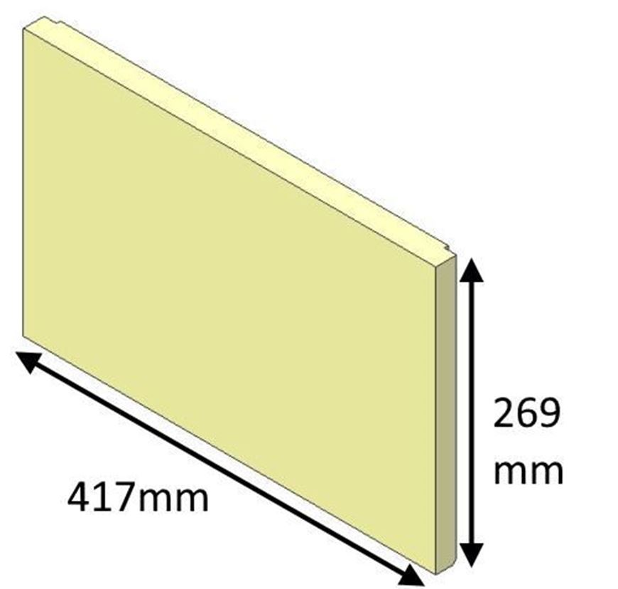 Picture of Rear Brick - Inset 50i (Current models)