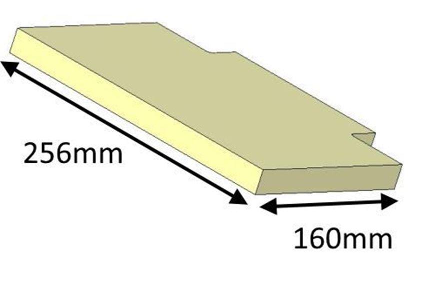 Picture of Baffle Brick - Upper, 50i (Current Model